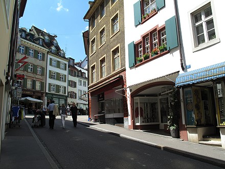 Basel Shopping