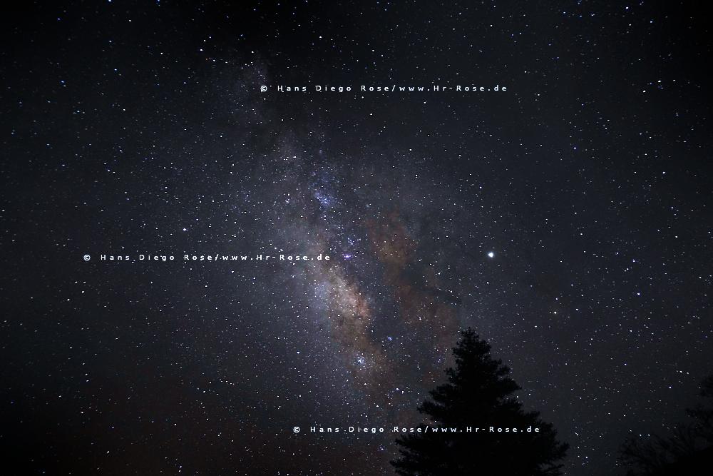 Milchstraße fotografieren: Fotokurse auf Teneriffa